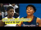 Jalen Lecque vs Chase Adams! UPSET OF THE YEAR?! Brewster vs Link Year Prep Full Highlights!