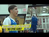 LaMelo Ball DUNKING & Throwing DIMES Lookin' Like a TALLER LONZO In 3rd Spire Game!!