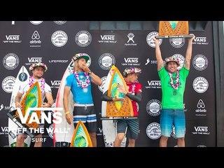 2018 Hawaiian Pro - Final Day | Triple Crown of Surfing | VANS