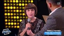 Mireille Mathieu au bord des larmes dans TPMP