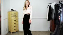 Get Trending: Three Ways To Style Velvet Pants