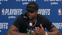 Dwyane Wade Postgame conference   Sixers vs Heat Game 4   April 21, 2018   NBA Playoffs