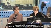 [ INDO SUB ] 181112 EXO SUHO, KAI on Choi Hwa Jung's Power Time Radio