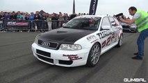 855HP Audi RS4 Avant B5 2.7 BiTurbo PPR 0-267 KM/H ACCELERATION!
