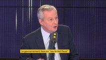 """#GiletsJaunes """"Il y a une déchirure territoriale en France, nous le savons (...) la désespérance de millions de français je la ressens au plus profond de moi-même"""" constate Bruno Le Maire"""