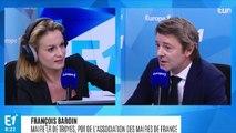 """""""Une commune, ce n'est pas une succursale de l'État, encore moins une filiale"""", rappelle François Baroin"""