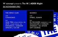 W Concept presents The W | ADER Night