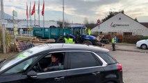 Saint-Dié : les gilets jaunes applaudissent l'arrivée en renfort d'agriculteurs