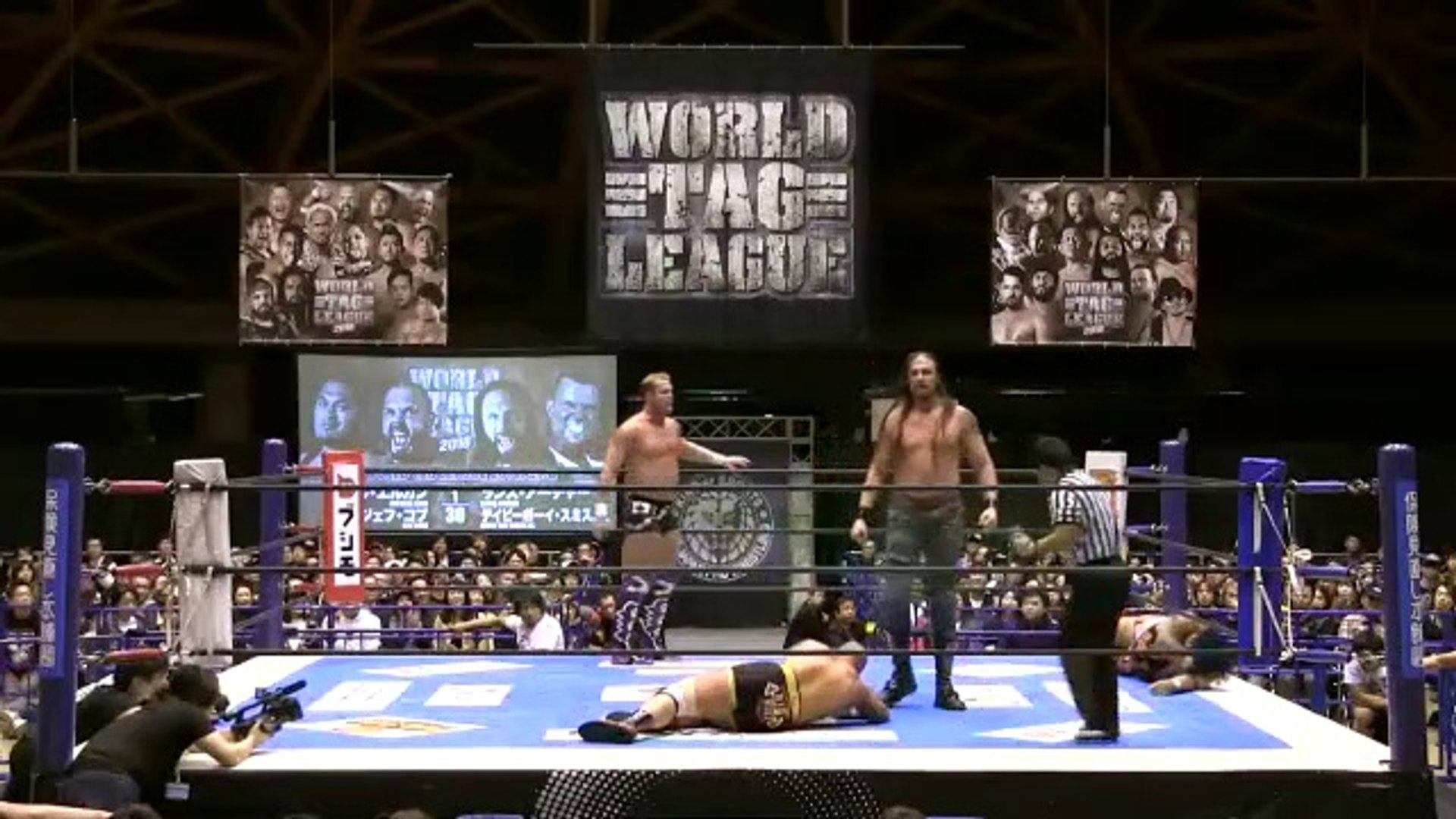 Watch NJPW World Tag league 2018 Day 3 – 21st November 2018 Full Show Online Free