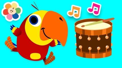 Aprende Nuevo Vocabulario | Palabras para NIños | Instrumentos de Musica | Vocabularry | BabyFirst