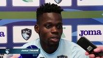Avant Paris FC - HAC, interview de Jamal Thiaré