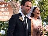 Mandy Moore se marie en rose