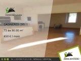 T3 APPARTEMENT 90.00m2 A louer sur Gagnieres - 450 Euros/mois