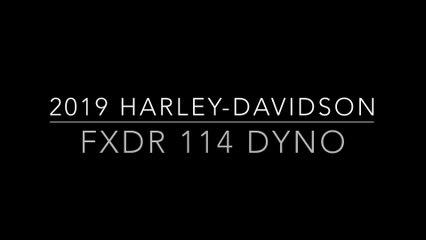 2019 Harley-Davidson FXDR 114 Dyno Run