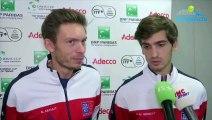 """Coupe Davis 2018 - France-Croatie - Nicolas Mahut et Pierre-Hugues Herbert : """"On a peu de temps pour se préparer !"""""""