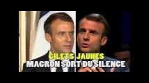 Sur les gilets jaunes, Macron a (encore) dérogé à sa règle depuis l'étranger