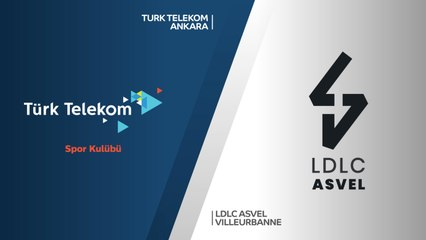 7Days EuroCup Highlights Regular Season, Round 8: Turk Telekom 78-83 ASVEL