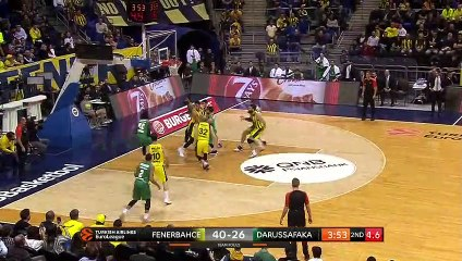 EuroLeague 2018-19 Highlights Regular Season Round 8 video: Fenerbahce 100-79 Darussafaka