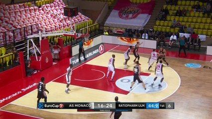 7Days EuroCup Highlights Regular Season, Round 8: Monaco 84-81 Ulm