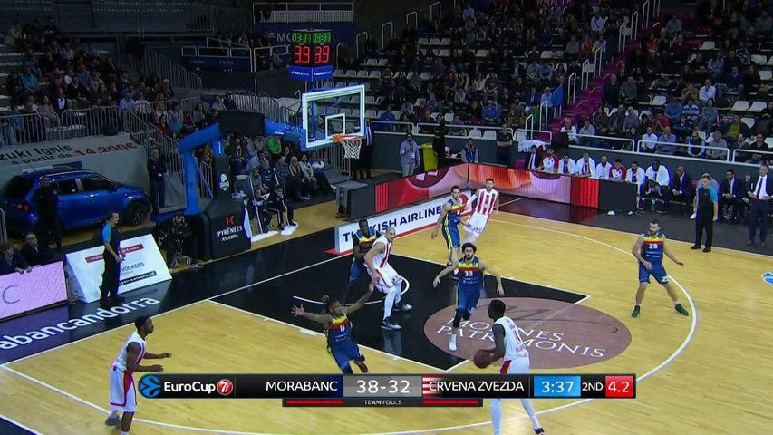 MoraBanc Andorra - Crvena Zvezda mts Belgrade Highlights | 7DAYS EuroCup, RS Round 8