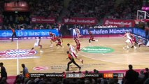 FC Bayern Munich - Olympiacos Piraeus Highlights | Turkish Airlines EuroLeague RS Round 8
