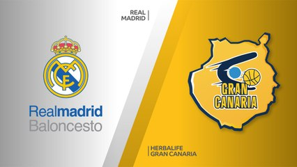 EuroLeague 2018-19 Highlights Regular Season Round 8 video: Madrid 89-76 Gran Canaria