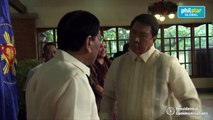 President Rodrigo Roa Duterte presides over the oath taking of Ramon Tulfo, Jr. as his Special Envoy for Public Diplomacy to the People's Republic of China