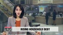 S. Korea's total household credit surpasses US$ 1.33 tril. in Q3
