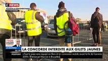 Gilets Jaunes : Le Ministre de l'Intérieur interdit aux manifestants de se réunir samedi Place de la Concorde à Paris