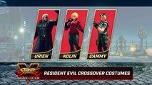 Street Fighter V : Arcade Edition - Les costumes Resident Evil