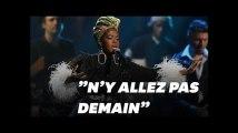 Les images des fans de Lauryn Hill en colère face à son retard à Bercy