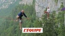 La websérie Test it teste la highline sur les sommets du Vercors - Adrénaline - Tous sports