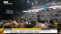 Regardez le public huer Lauryn Hill hier soir à Paris après 2h30 de retard sur scène !