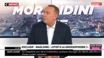 """Morandini Live - Magloire au bord des larmes : l'animateur """"souffre"""" d'être gros (vidéo)"""