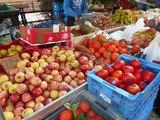 Climat d'Espagne : Marché espagnol Convivialité : Des fruits des légumes frais du soleil – Saveur Cuisine d'Espagne
