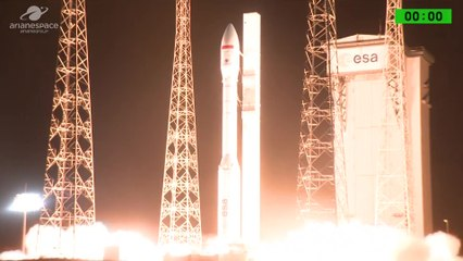 Launch of Vega Rocket with Mohammed VI-B