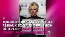 Pamela Anderson : sa poitrine dévoilée sur Instagram cache un mystérieux message