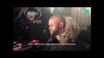 Jawad Bendaoud a parlé à Bley Bilal Mokono, victime du Stade de France, à la sortie du procès