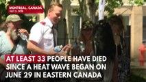Quebec Heat Wave Death Toll Climbs