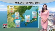 Eastern regions to have cooler temps with rain _ 070618