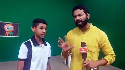 Gurvansh Choudhary, who won Bronze medal in 10th International Speed Ball Championship