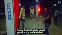 Madhya Pradesh: Dalit boy whipped by petrol pump owner for skipping work