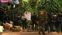 Tayland'da mağarada mahsur kalan çocukları kurtarma operasyonu