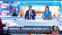 L'édito de Christophe Barbier: Pourquoi Emmanuel Macron chute-t-il dans les sondages?