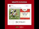 Twitter reacts to Kylian Mbappe's stunning #WorldCup performances