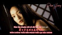 Jane Zhang 张靓颖  - Huà Xīn 画心 Painted Heart (Painted Skin OST) (VIETSUB + CHINESE LYRICS + KARA)