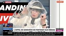 Geneviève de Fontenay veut expliquer ce qu'est un voile - ZAPPING TÉLÉ DU 06/07/2018