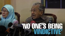 NEWS: Accounts frozen not out of revenge - Tun M