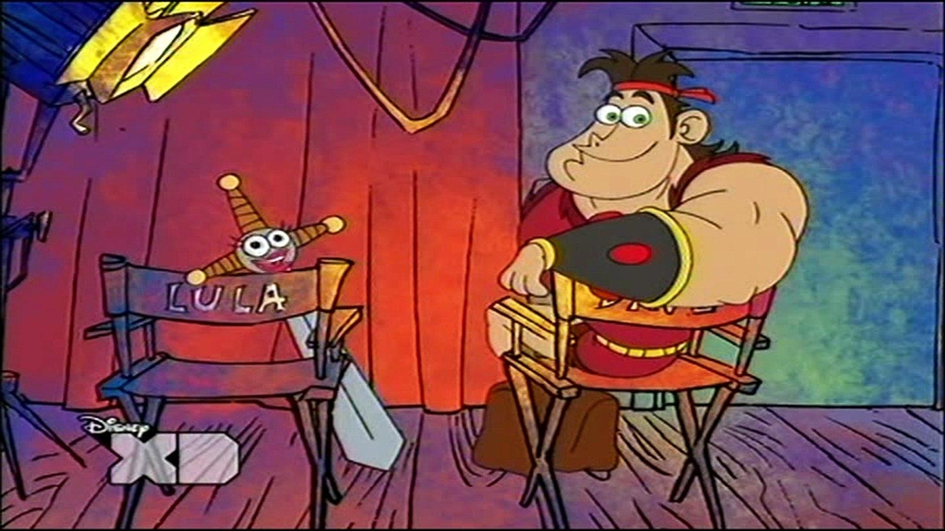 Disney's Barbaren-Dave - 02. b) Lulas erstes Mal 06. a) Nicht gesellschaftsfähig 06. b) Der dop