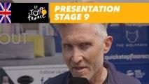 Presentation - Stage 9 - Tour de France 2018